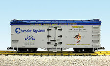USA Trains G Scale R16012A Chessie System Lt Gray/Blue CHOICE RD # NEW RELEASE