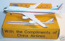 SCHABAK AIRCRAFT AVION PLANE METAL BOEING 747-400 CHINA AIRLINES 921/105 1/600