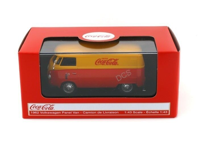 Motor City Classics 1962 Volkswagen Panel Van Bus 1 43 Coke Coca Cola 434481