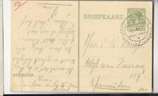 World Jamboree Scout Netherlands 1937 postcard to IJmuiden