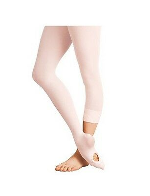 Body Wrappers A81 Ballet Pink Women/'s Small//Medium Convertible Tights