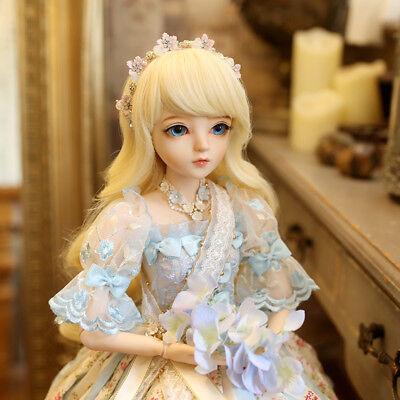 "New 24/"" 1//3 Handmade PVC BJD MSD Lifelike Dolls Joint Dolls Girl Gift Angelia"