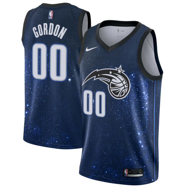 detailed look 2928d 9bf88 Details about New 2018 Nike NBA Orlando Magic Aaron Gordon #00 City Edition  Swingman Jersey