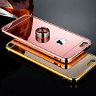 Luxury Ultra-thin Mirror Metal Case For iPhone 6 6S 4.7 Plus 5.5 Aluminum Cover