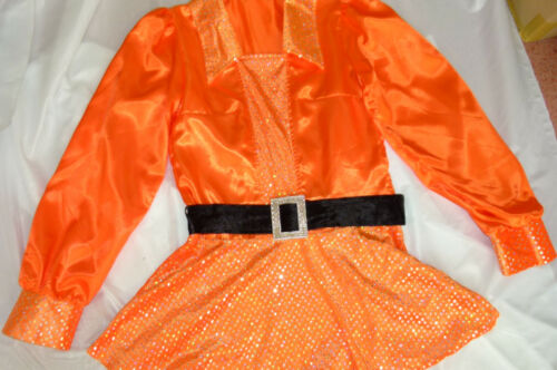 KarnevalsTeufel Antje orange 70er Mottoparty Disco Karneval Fasching 1211480G13