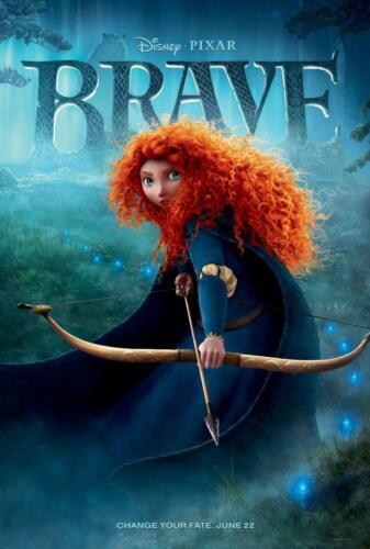 Brave Movie Poster Print Wall Art 8x10 11x17 16x20 22x28 24x36 27x40 Thompson