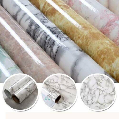 Kitchen Countertop Cabinet Furniture Waterproof Marble Contact Paper Granite