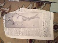 m57c ephemera 1950s picture model vera ellen tv actress
