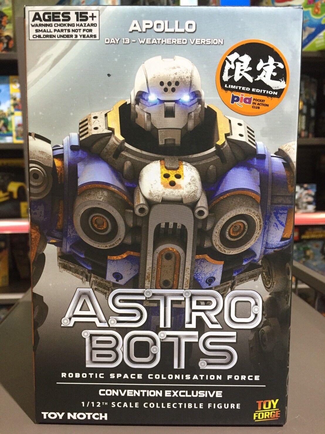 [W. H] y en caja sellada 89129 En Stock Juguete Muesca astrobots A01-D Apollo 1 12 escala figura