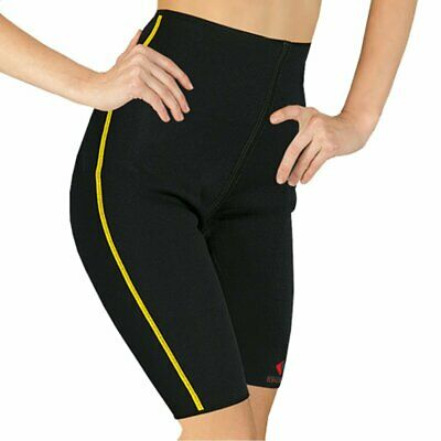 Bauchweg Sport Hose Neopren Thermohose Schwitzhose Anti-Cellulite Shorts