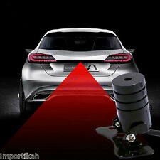 Anti Collision Rear-end Car Laser Tail Fog Light Auto Brake Parking Lamp light