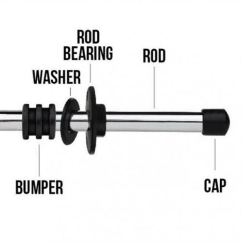 Fußball Rod Buffer 5//8 16pcs Foosball Machine Washers 3,5 cm Tischfußball