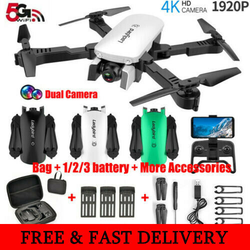 grandi offerte RC RC RC Drone x pro 5G Selfie WIFI FPV Con 4K + 1920P HD telecamera pieghevole DG  il prezzo più basso