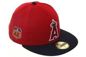 2ebb2fa17 Official MLB 2017 Spring Training Los Angeles Angels New Era 59FIFTY ...