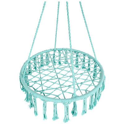 Bcp Indoor Outdoor Handwoven Cotton Macrame Hammock Hanging Chair Swing Ebay