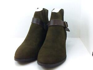 Mode Frauen Leder Booties Flache Schuhe Schneestiefel Punk Schuhe Stiefel E6H3