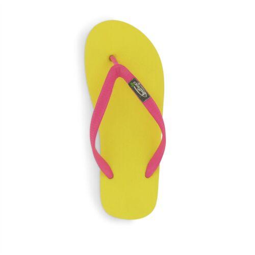 pink Zehentrenner 35//36 bis 43//44 FSC Naturkautschuk Feelfine/'z Canaria gelb
