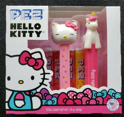 Walgreen/'s Exclusive HELLO KITTY with UNICORN /& Candy PEZ 2-PACK Free Shipping