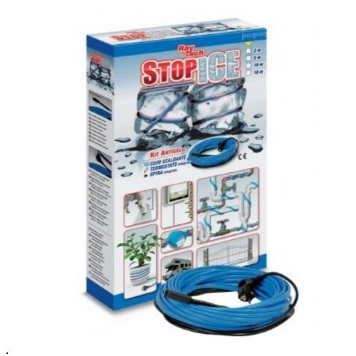 Ray tech stop ice 10//12 10Mtr 120W anti gel system for piping stopice 1012