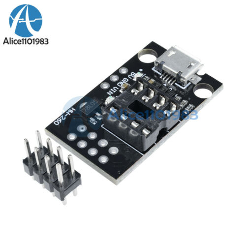 2PCS développement programmeur Board For ATTINY 13 A//ATTINY 25//ATTINY 45//ATTINY 85
