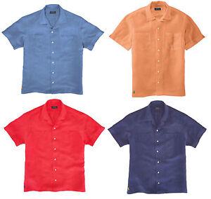 125 polo ralph lauren mens silk linen short sleeve button for Men s batik bay silk blend button down shirt