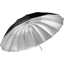 Westcott  7-Feet Silver with Black Cover Parabolic Umbrella 4633