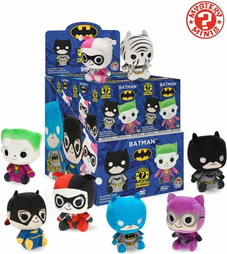 FUNKO MYSTERY MINIS BATMAN PLUSHIES NEW SEALED BLIND BOXES DC COMICS