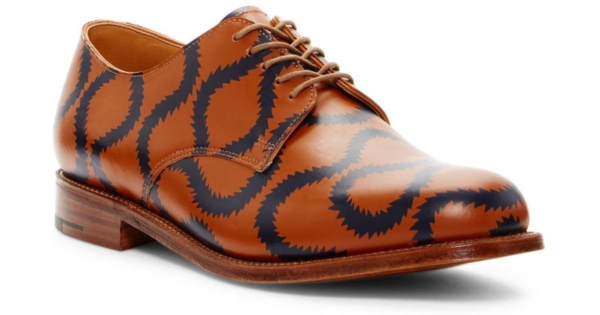 Auténtico VIVIENNE WESTWOOD Para hombres Zapatos Squiggle Derby acordonados formal