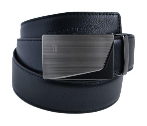 Bussel Belt Ratchet Zip Belt Rise Buckle with Black Belt 26 in. - 38 in.