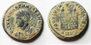 Constantine Ii Ae 3 Beautiful In Colour Methodical Zurqieh Original Desert Patina as4916