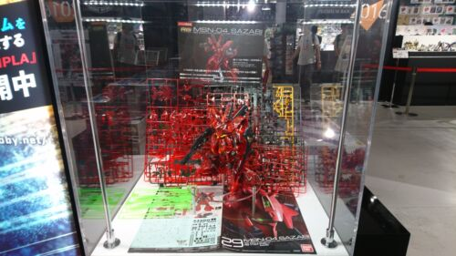 RG 1//144 Sazabi Clear Color Gundam Base  Tokyo Event Limited Gunpla From Japan