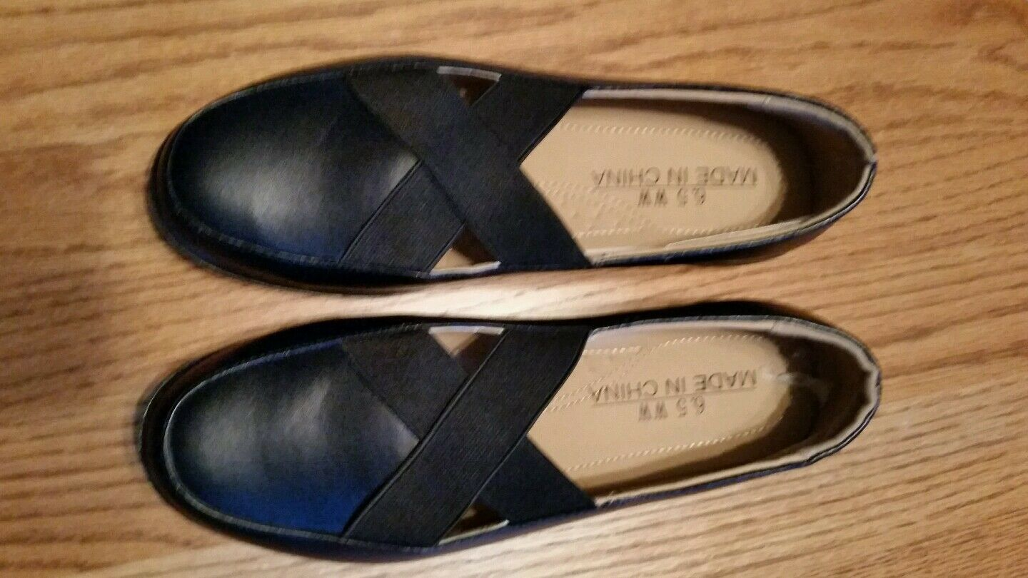 Nwob Unbranded black synthetic material   6.5M XX stretch strap   Oxfords cacc78