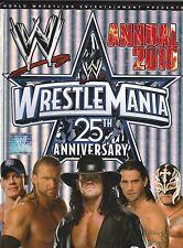 WWE WRESTLEMANIA 25TH ANNIVERSARY ANNUAL 2010 BOOK KIDS