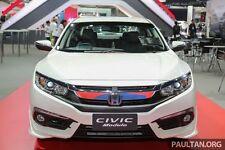 New Civic 2016 JDM ASIAN Style Front Under Spoilers Lip Kit 2 pcs Mat'l No piant