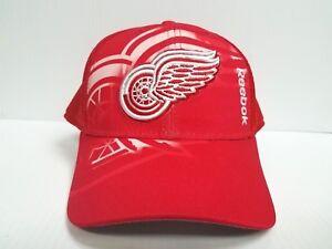 a01dfd36c95 Detroit Red Wings Reebok Cap 2016-17 Center Ice 2nd Season Mesh ...