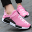 Womens-Sneakers-Casual-Sports-Running-Tennis-Shoes-Breathable-Trainers-Pink-Size thumbnail 2