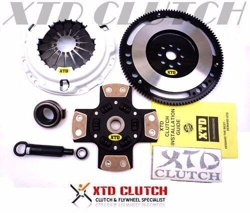 XTD STAGE 5 CLUTCH /& 9LBS FLYWHEEL KIT 90-91 INTEGRA B16A1 B17A1 S1 Y1 SPRUNG