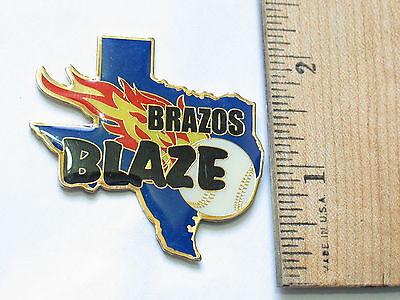Angemessen Brazos Blaze Baseball Reversnadel #122 Sport