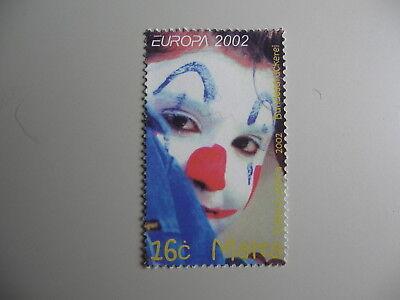 2002 Erfinderisch Z3 Einzellwerte Pfrs/mnh/** Cept-europa Malta