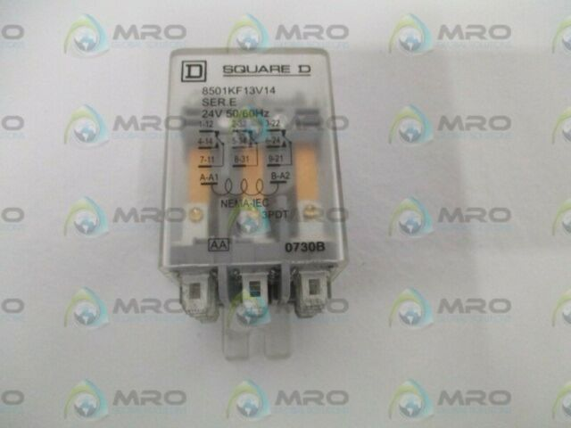8501RSD34V53 Hermetically Sealed Relay 14 Pin 4PDT-5A 24VDC Square D Co