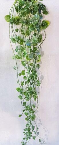 Lierre feuille de vigne Suspendu Plante Guirlande 70 cm artificielle Art Plantes Frost