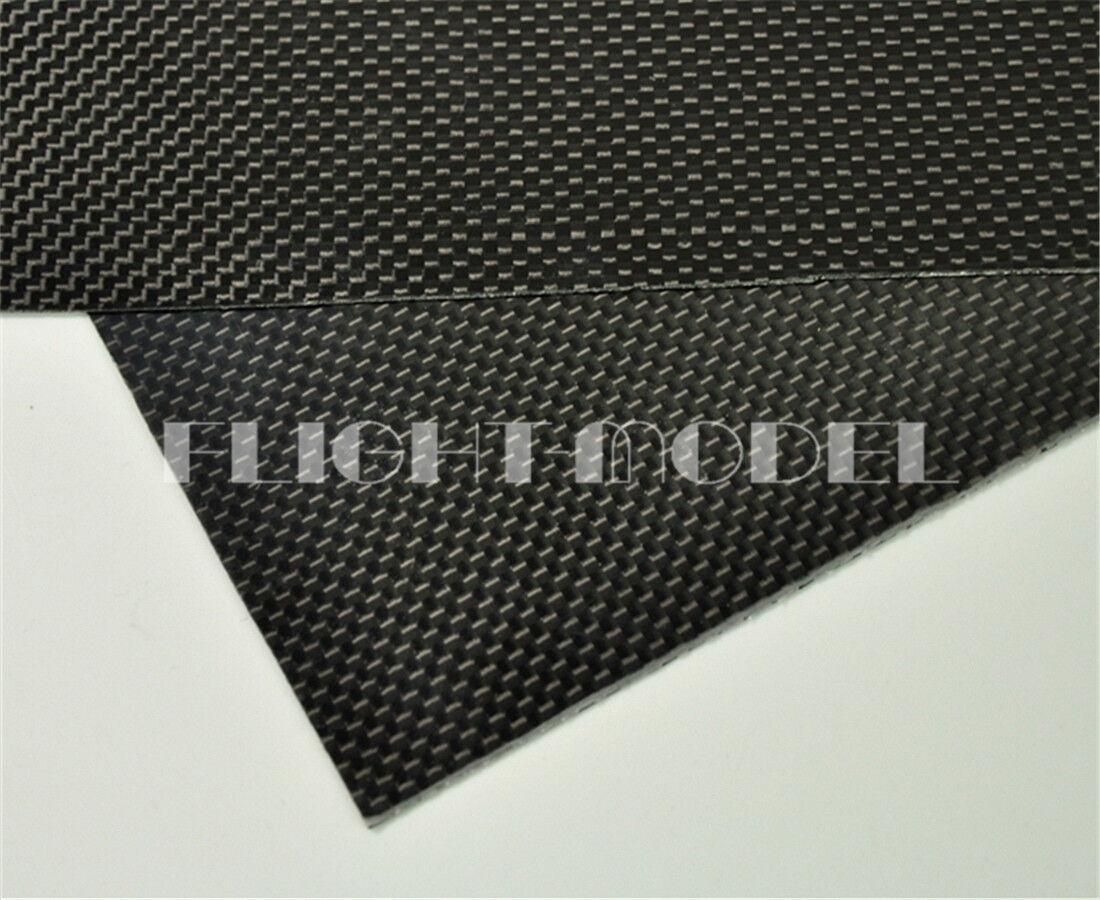 500mmX500mmX0.5mm 100% Carbon Fiber plate panel panel panel sheet 3K plain Weave Glossy 4e3ae5