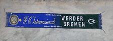 SCIARPA FC INTER WERDER BREMEN CHAMPIONS LEAGUE SCARF CELEBRATIVE SCHAL 2008-09