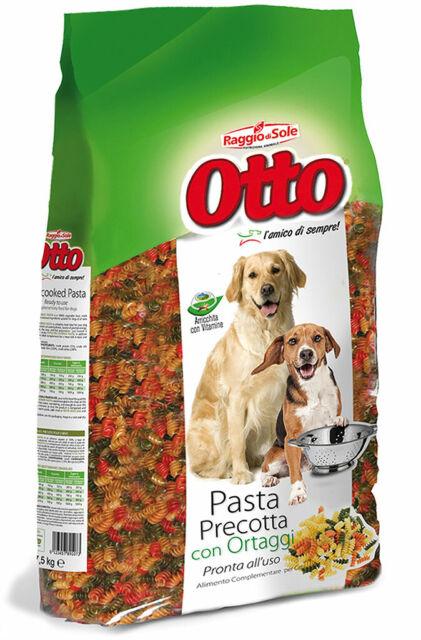 Cibo Per Cani Pasta Precotta Con Ortaggi Alimenti per Cane Raggio di Sole 7,5Kg