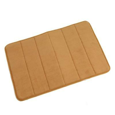 Home Bathroom Square Nonslip Durable Memory Foam Carpet