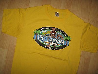 Antioch Tiki Tee - California Recreation Dept Lil Kahuna Camp Aloha T Shirt Med
