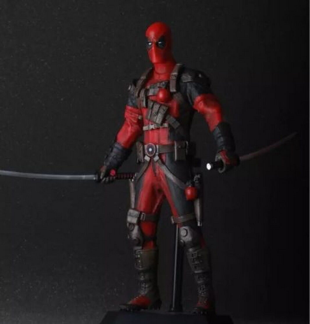 Crazy Toys Marvel X-men Deadpool Wade Wilson Wilson Wilson  Model Action Figure Toy Doll Red 03424f