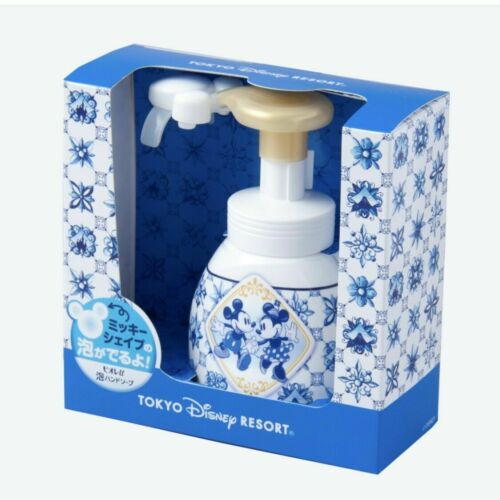 Tokyo Disney Resort Mickey /& Minnie shape hand soap Limited From Japan