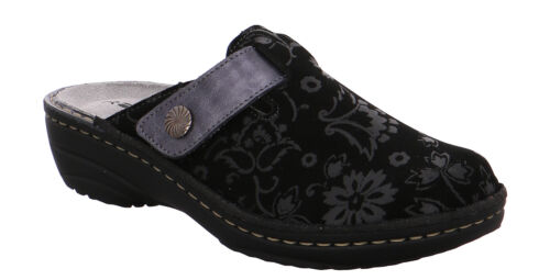 Rohde 6176 Cremona Schuhe Damen Hausschuhe Pantoffeln Weite G