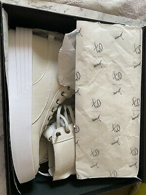 PUMA x XO Parallel x The Weeknd Collab Cream Leather High Top Sneakers Shoes | eBay